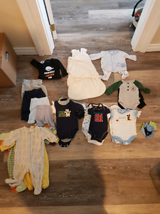 New born name brand clothes