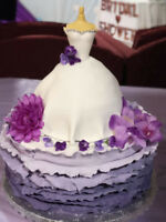 CUSTOMIZED BIRTHDAY CAKES, BAPTISM CAKES, WEDDING CAKES, etc.