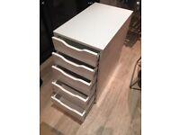 Ikea Alex, White , Filimg, Office Bedroom Draw Unit