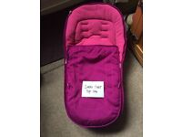 Brand new Icandy peach fuchsia Footmuff