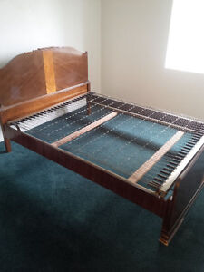 Double Bed with built in box spring Kitchener / Waterloo Kitchener Area image 1