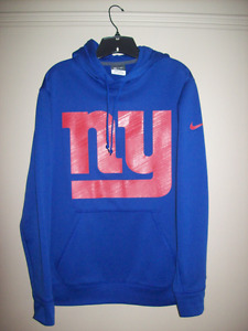 IMPECCABLE / SIZE M / NIKE NFL THERMA-FIT NEW YORK GIANTS HOODY