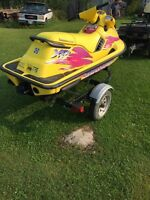 Seadoo and quad for sale