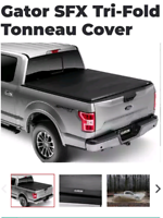 Soft tri fold cover for 16+ Super duty