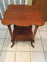 BEAUTIFUL ANTIQUE TABLES