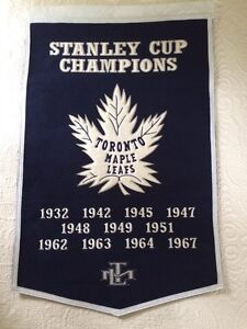 Toronto Maple Leafs Dynasty Banner Prince George British Columbia image 1