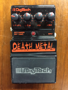 Guitar effects pedal- Death Metal Distortion
