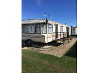 Caravan to rent on coral beach ingoldmells 8 berth