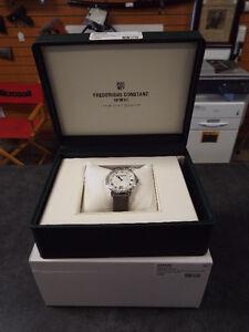 Frederique Constant Ladies Diamond Bezel Quartz Watch