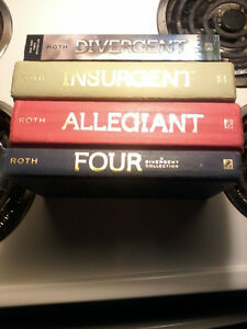 The divergent 4 Hardcover bookset