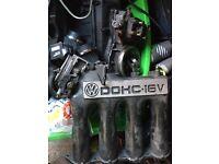Mk2 golf 16v inlet manifold etc