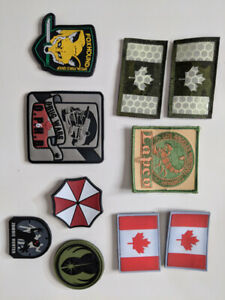 Milsig paintball patches