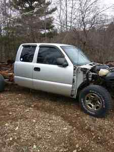 99 to 2001 gmc / chev parts