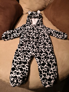12m Warm infant Snowsuit Thick hooded with hands & feet