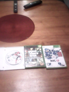 Xbox360 games nhl 2012 and nhl2010 plus gtasan andreas for xbox