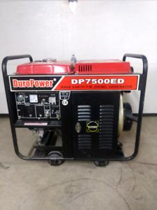 Duro Power- DP7500ED Diesel generator. REDUCED!