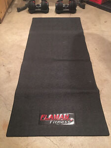 Mat for weight bench, treadmill, etc