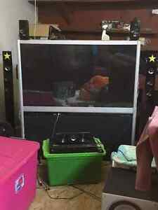 55 inch projection tv for sale