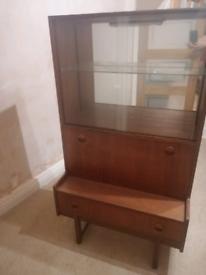 Vintage Retro Display Cabinet