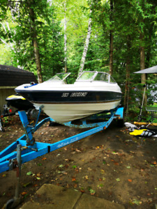 1996 BAYLINER CAPRI 40th aniversery edition