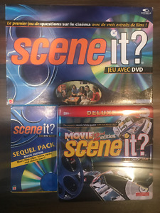 Scene it, Scene it Sequel Pack, Scene it Movie 2nd edition