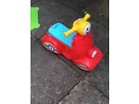 Fisher price laugh & learn scooter