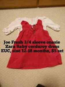 Zara Baby Dress Outfit set - size 12-18 months