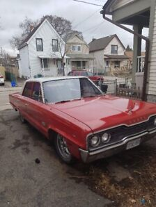 1966 Dodge Polara 500 - 4 dr. sedan - great shape