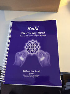 """""""Reiki - The Healing Touch"""" 1st and 2nd degree manual"""
