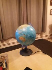 World lamp