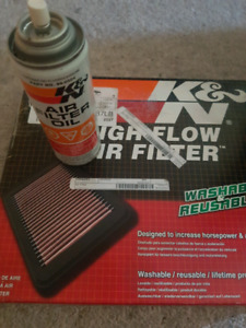 K&N air filter fits wk jeep grand Cherokee, liberty , commander