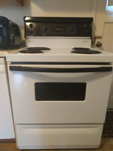 White, Kenmore stove for sale