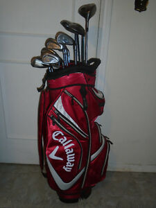 CALLAWAY GOLF CLUBS FULL SET RH. - $625