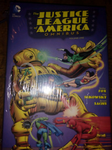 Justice league of america omnibus sealed brand new dc comics