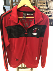 Adidas Track jacket, Miami heat