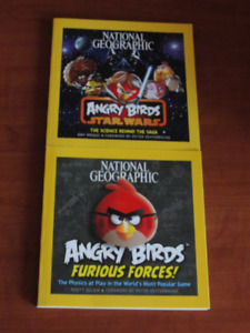 Angry Birds Star Wars books! National Geographic. New & unread!