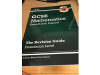 CGP GCSE mathematics revision guide foundation level