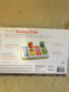 Infant toy - Bop & Pop Animal Pals new in package Kitchener / Waterloo Kitchener Area image 4