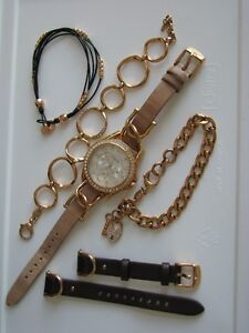 Beautiful Rose Gold Fossil Watch plus extras London Ontario image 2