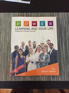Power: Learning and Your Life- Essentials of Student Success 3ed