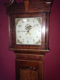 1790 George lll Grandfather clock - converted to quartz