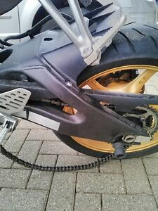 YAMAHA R6R 2008 -2014 COMPLETE REAR END WITH 4850KM Windsor Region Ontario image 2