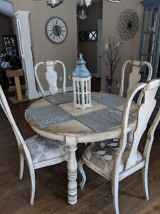 Bima Dining Table & Four Chairs