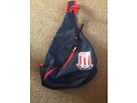 Stoke City chest and shoulder bag £10