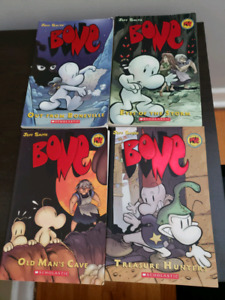 Bone Graphic Novels by Jeff Smith