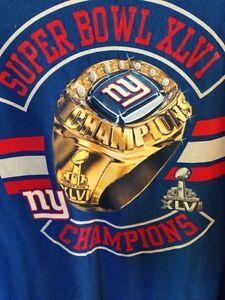 NFL New York Giants football T shirt Gatineau Ottawa / Gatineau Area image 1