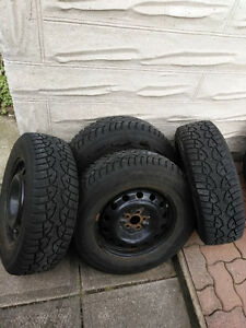 Winter tires/wheels, General Altimax Arctic 215/70R16 5x100
