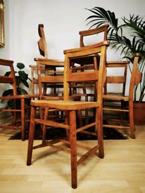 Beechwood & elm Church chapel chairs