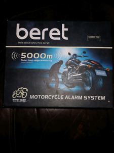 Beret motorcycle security system