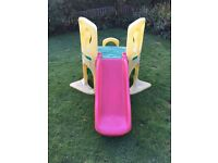 Little tykes climbing frame and slide